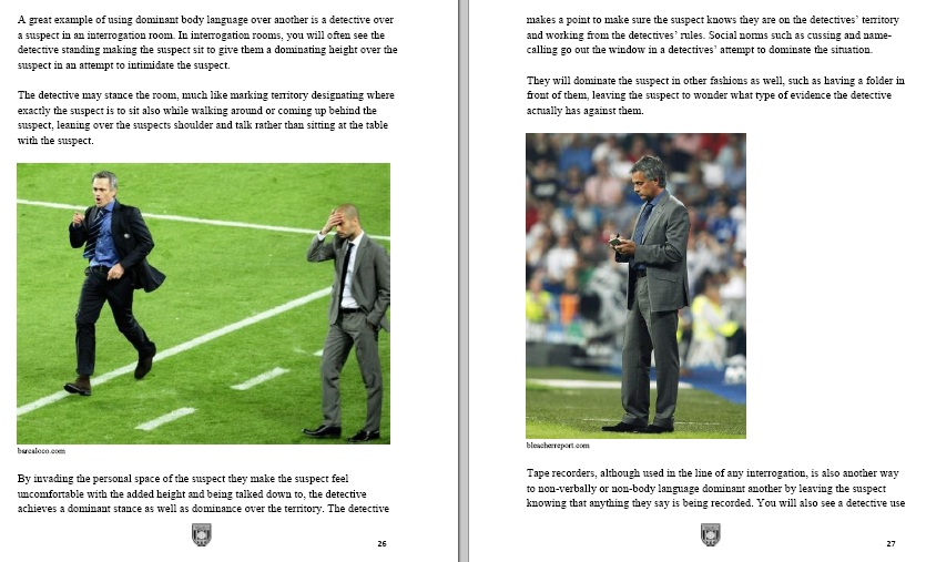 The Mourinho Signs - Understand and Learn to read body language